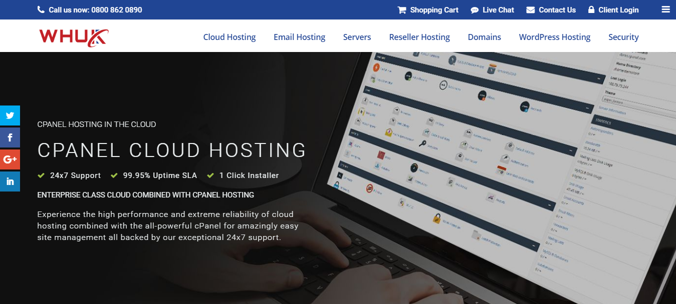 Web Hosting UK- Reliable Hosting Provider